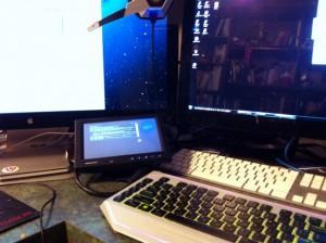 Monitor Closeup
